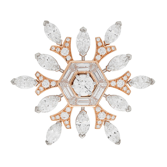 The Nutcracker snowflake brooch