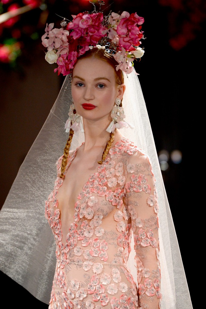 Naeem Khan Bridal Fall/Winter 2016 Runway Show