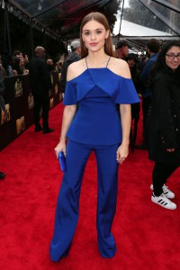 Холланд Роден (Holland Roden) на MTV Movie Awards: гламур и royal blue