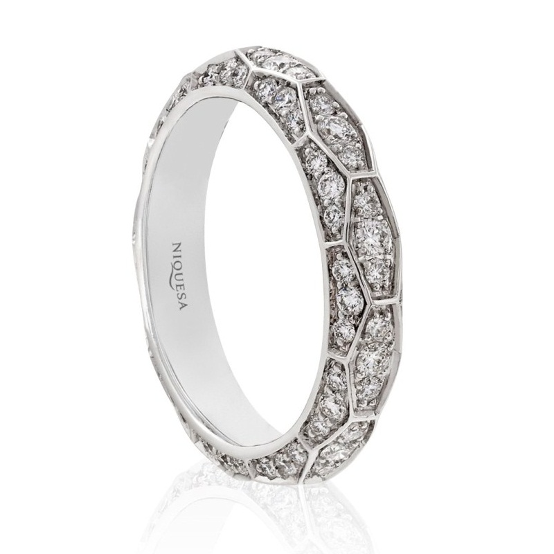Ophidian Band Ring by Niquesa